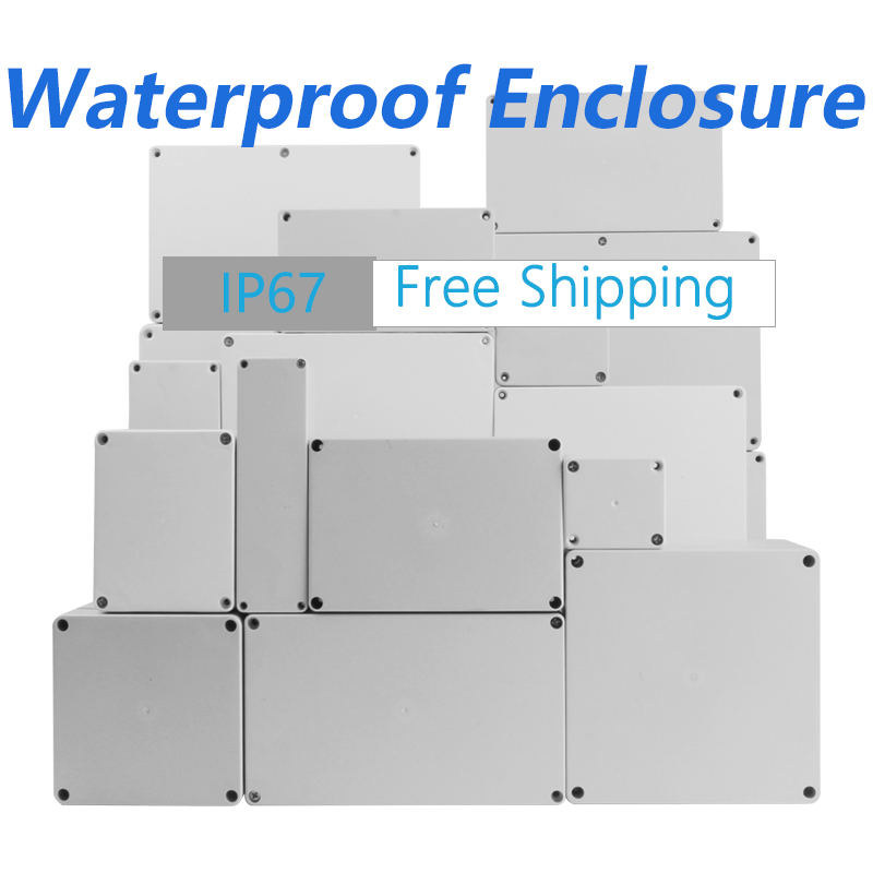 Waterproof Junction Box Enclosure Plastic Box for Electronics Outdoor Waterproof Case Electronic Project Case