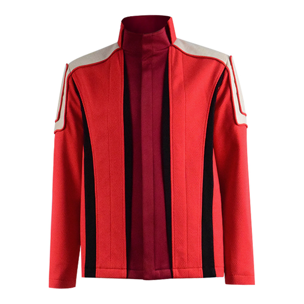 Cossky Dr. Ivo Robotnik Cosplay Costume Dr. Eggman Men Red Jacket Coat