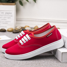 Womens Canvas Shoes Spring and Autumn New Casual Comfortable Women Wear Non-slip Lightweight