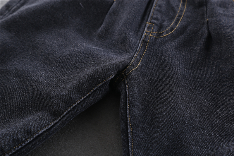 2020 Winter Baby Boys Warm Jeans New Casual Thick Velvet Denim Pants for Boys 2-6 Years Children's Thickening Jeans Trousers 5