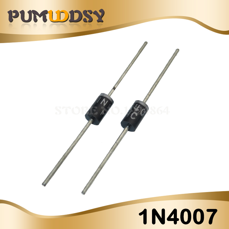1N4007 Rectifier Diode 1A 1000V USA SELLER 10 Pieces