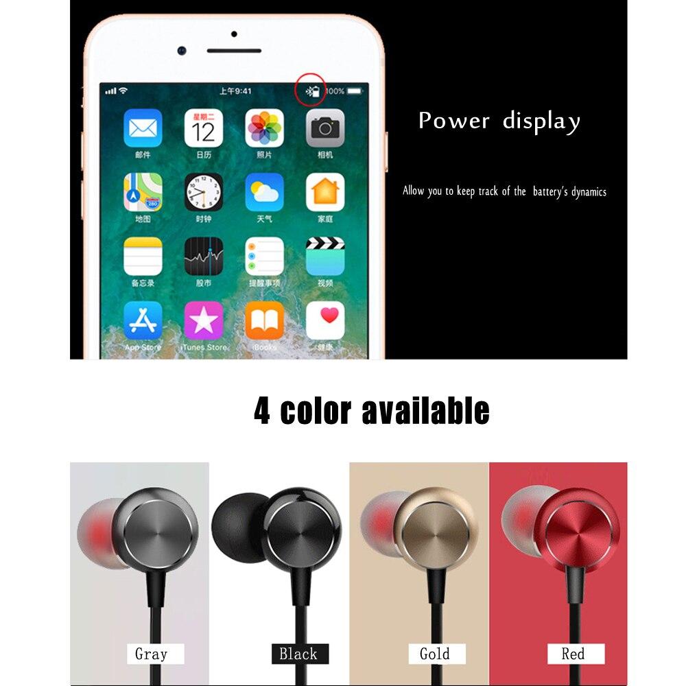 10 шт. беспроводные Bluetooth наушники, стерео водонепроницаемые наушники, беспроводные наушники с микрофоном для IPhone, Samsung, Huawei - 5