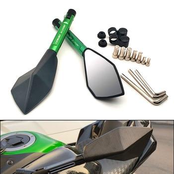 Espejos universales para motocicleta, espejo retrovisor lateral de aluminio para Suzuki 600 750 KATANA GSXS1000 RM 125 250 X Z 250 450