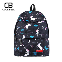 Women Schoolbag Laptop Backpack School Bag Sports Travel Unicorn Backpack School Bags For Teenager Girls children Backpack Gift fengdong cute lemon printing school backpack kids computer bag children school bags for girls women laptop backpack 14 schoolbag