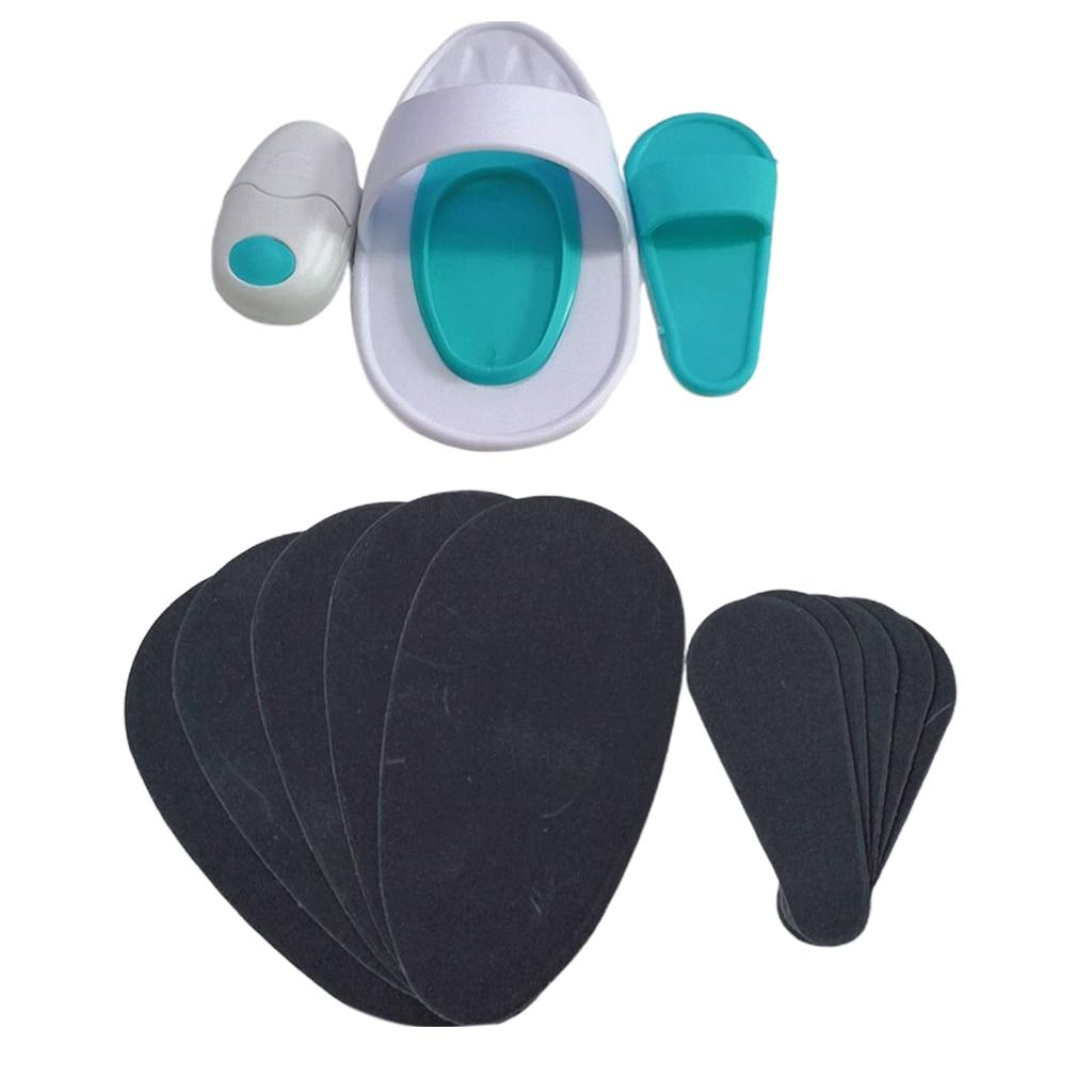 New 13pcs Smooth Skin Pads Body Sheer Lip Hair Removal Set Exfoliator Tool