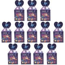 12/24/36/48/60 Pcs Video Game Thema Snoep Doos Kinderen Gelukkige Verjaardag Party Gift Dozen Baby douche Decor Levert Geschenken Box Hot
