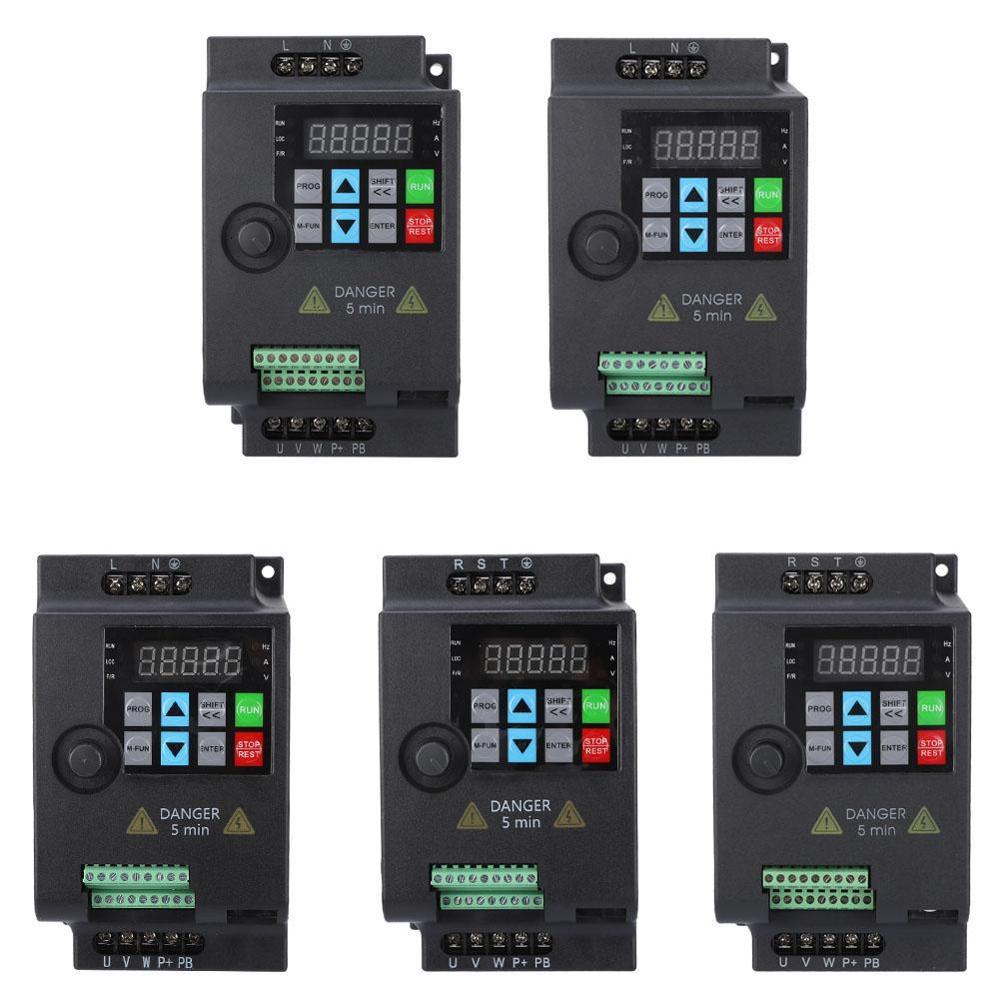 Преобразователь частоты SKI780 Mini VFD 220 В/380 В 0,75/1,5/кВт, преобразователь частоты для управления скоростью двигателя