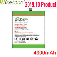 WISECOCO 4300mAh BT53 Batterie Für Mei zu PRO 6 Handy Auf Lager Neueste Produktion Hohe Qualität Batterie + tracking Nummer