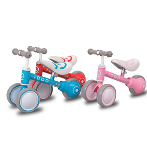 HIland Baby Walk Scooter Balance Bike Walker Kids Ride on Toy Gift for 1-3years old Children for Learning Walk Scooter