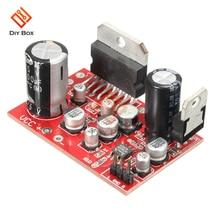 Módulo de placa amplificadora DE POTENCIA ESTÉREO TDA7379 DC 12V 38W + 38W 38W * 2 AD828 sistema de sonido de altavoz preamplificador tarjeta de Audio Control de volumen
