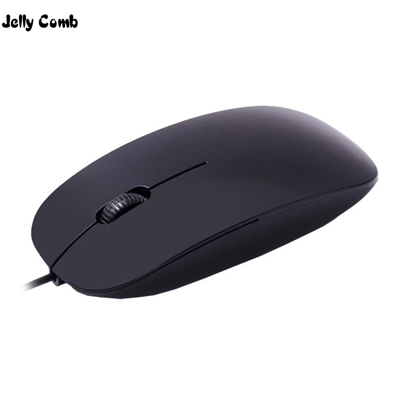 Jelly Comb Slim Wired Mouse Laptop Ergonomic Mouse For Notebook Optical Cordless Mouse 1000DPI Ultra Thin Mice For Computer PC