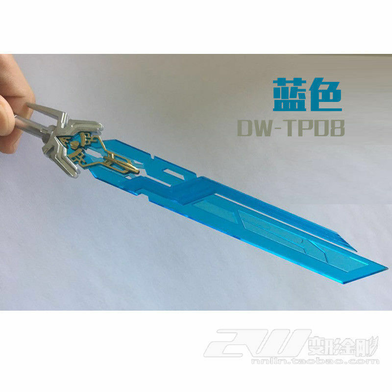 DR.Wu DW-TP08 Weapon Kits Blue Sword For Skybreaker Accessories In Stock