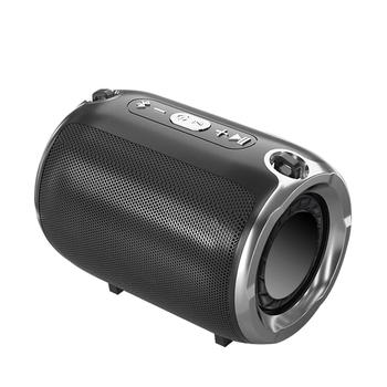 NBY Bluetooth głośnik bezprzewodowy Stereo kolumna HIFI przenośne głośniki z subwooferem obsługa radia FM TF AUX USB do telefonów tanie i dobre opinie Baterii Z tworzywa sztucznego Dwukierunkowa 2 (2 0) Funkcja telefonu NONE Radio S585 Inne 1200Mah Wireless Bluetooth Speaker