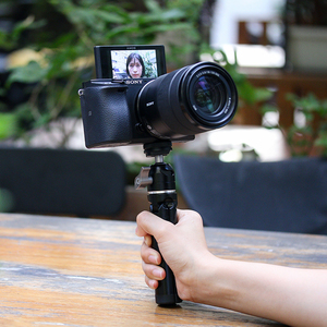 Image 4 - Mini tablet tripé de metal com ballhead ajustável para osmo móvel 3 cardan acessórios iphone andriod dslr câmera tripé kit