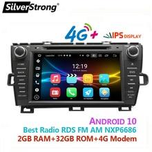 DSP,8 дюймов, Android10.0, автомобильный DVD GPS, для Toyota,Prius радио левый/правый Привод, 4G модем, WIFI Prius Android,32 ГБ