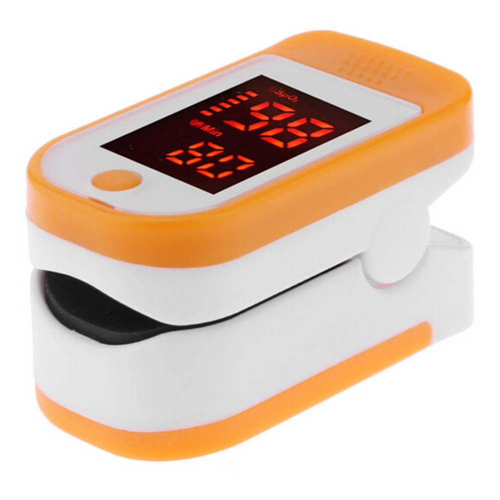 Pro Finger Pulse Oxygen Saturation Monitor Blood Oximeter Blood Pressure Meter Heart Rate Detector Health Care Tool