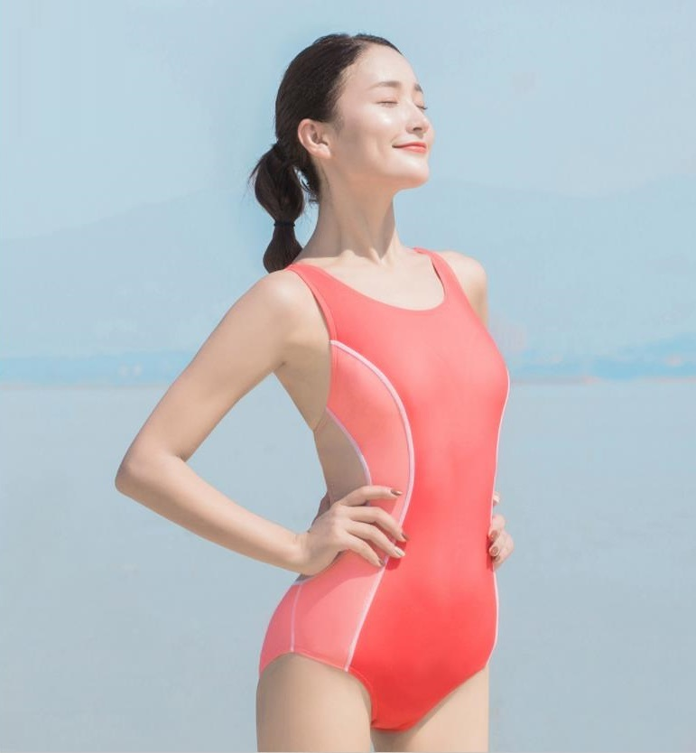 New  One Piece Swimsuit Women Swimwear Bodysuit Bandage Cut Out Summer Beach Bathing Suit Swim Monokini For Female