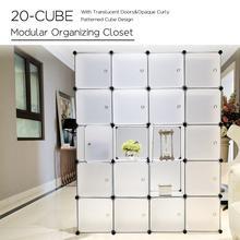 Interlocking Plastic Wardrobe Cabinet…