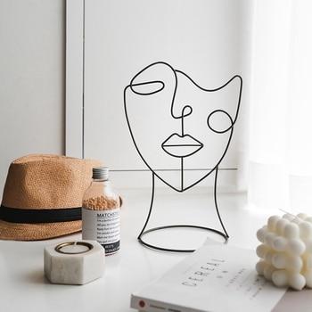Abstract Character Sculpture Art Decor