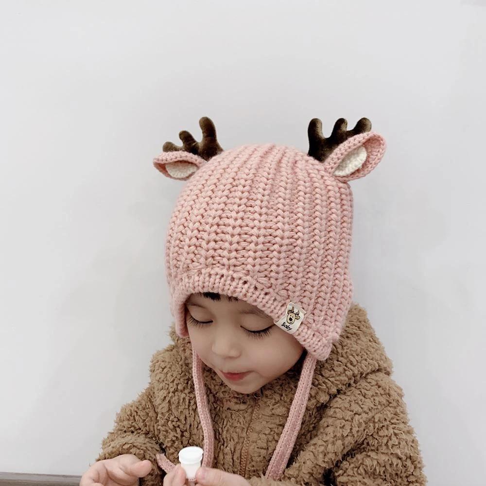 Cotton Winter Baby Hat Earflap Warm Cap Boys Girls Bonnet Beanies Kids Accessory