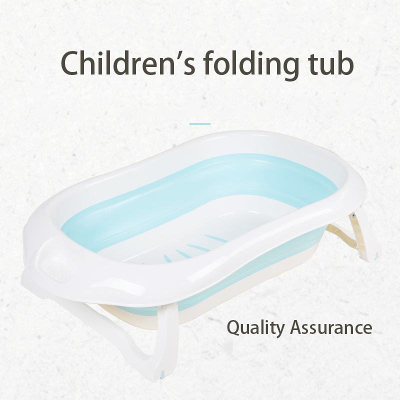 Nouveau-né bébé pliant baignoire Portable pliable enfants lavage baignoire pliante baignoire antidérapante maison multifonction bébé produit