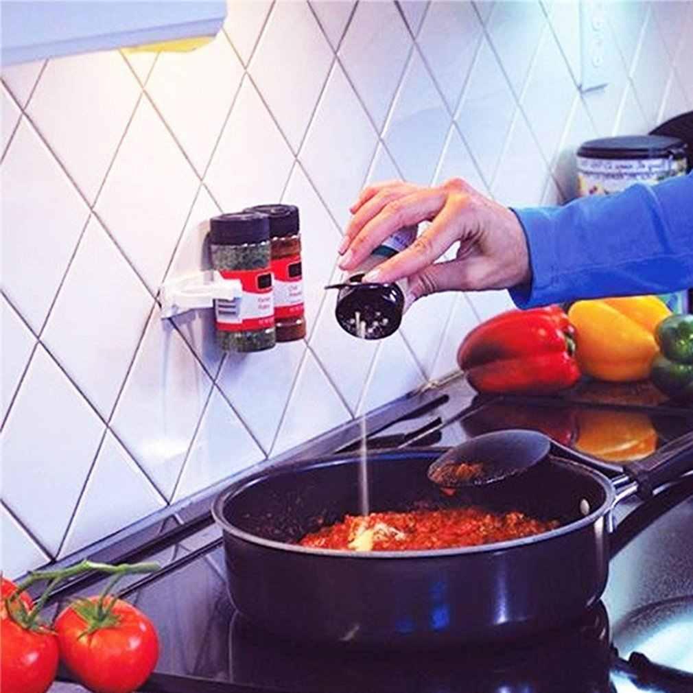 Mutfak baharat organizatör hafif depolama raf raf mutfak baharat baharat taşıyıcı şişe tutucu