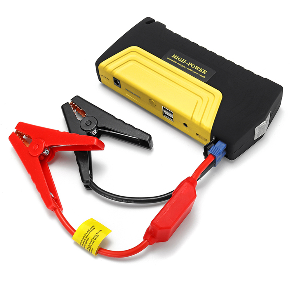 12000mAh 600A Portable Car Jump Starter Emergency Battery Booster Powerbank Waterproof LED Flashlight USB Port Auto Booster