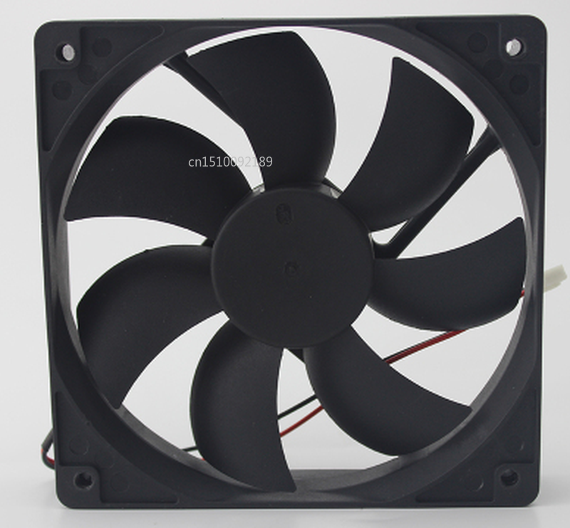 Free Shipping Original Authentic DC24V 0.24A 120*120*25 12CM BP1202524H 2 Wire Inverter Cooling Fan