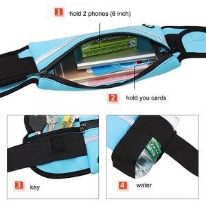 Image 3 - Yuyu wodoodporna saszetka sportowa do biegania dla kobiet., nerka, pas, torba, miejsce na butelkę z wodą i telefon, siłownia, kolarstwo, fitness