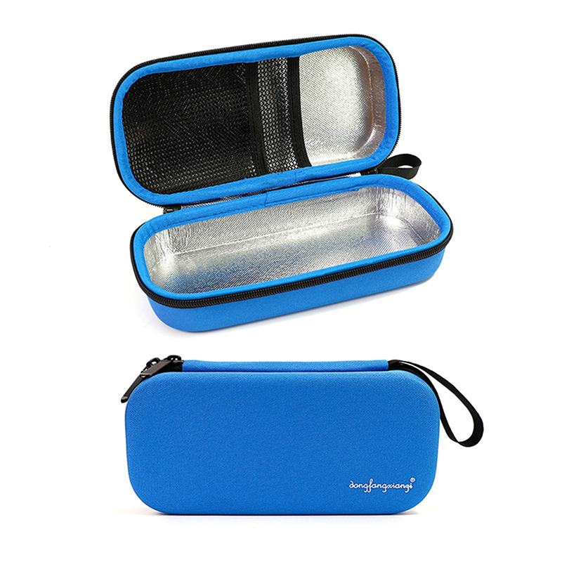 EVA Insulin Pen Case Cooling Storage Protector Bag Medical Cooler Travel Pocket Packs Pouch Drug Freezer Box For Diabetes People