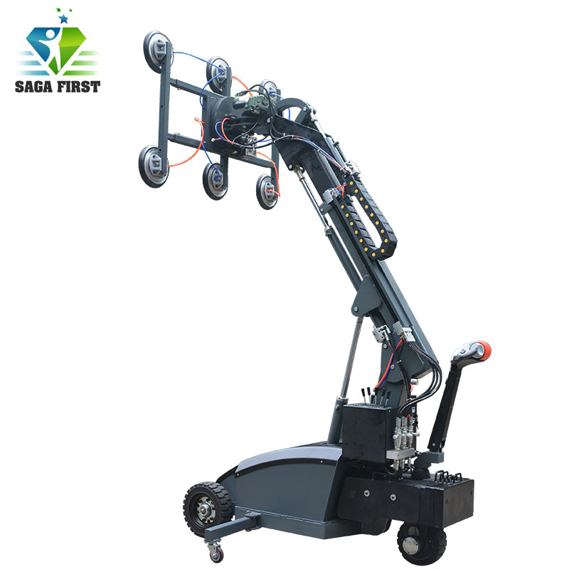 Small Auto Suction Vacuum Plate Lifter Handling And Lifting Equipment