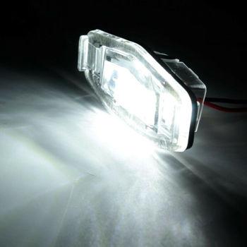 2 uds las luces de la matrícula de 12V para Acura TL TSX MDX Honda Civic acuerdo de piezas de automóviles