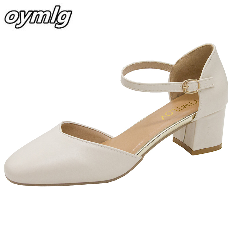 2020explosion models women's sexy high heels solid color pointed shallow mouth nonslip high heels buckle leather Single shoes PU|Women's Pumps| - AliExpress