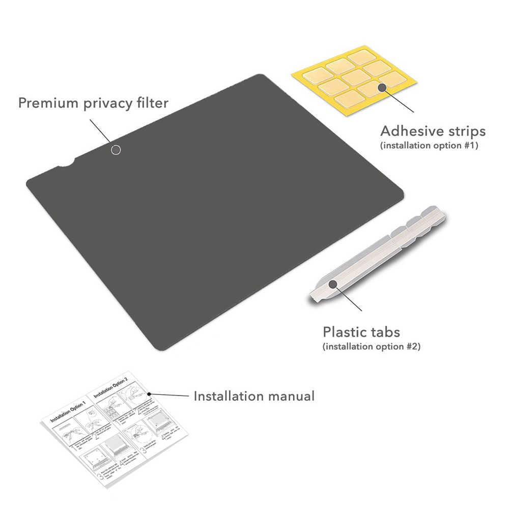 21.6 cala (463mm * 291mm) filtr prywatyzujący przeciwodblaskowa folia ochronna na ekran LCD do monitorów szerokoekranowych 16:10