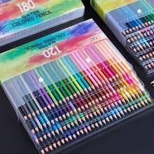120/150/180/210 Профессиональный масляный цветной карандаш набор