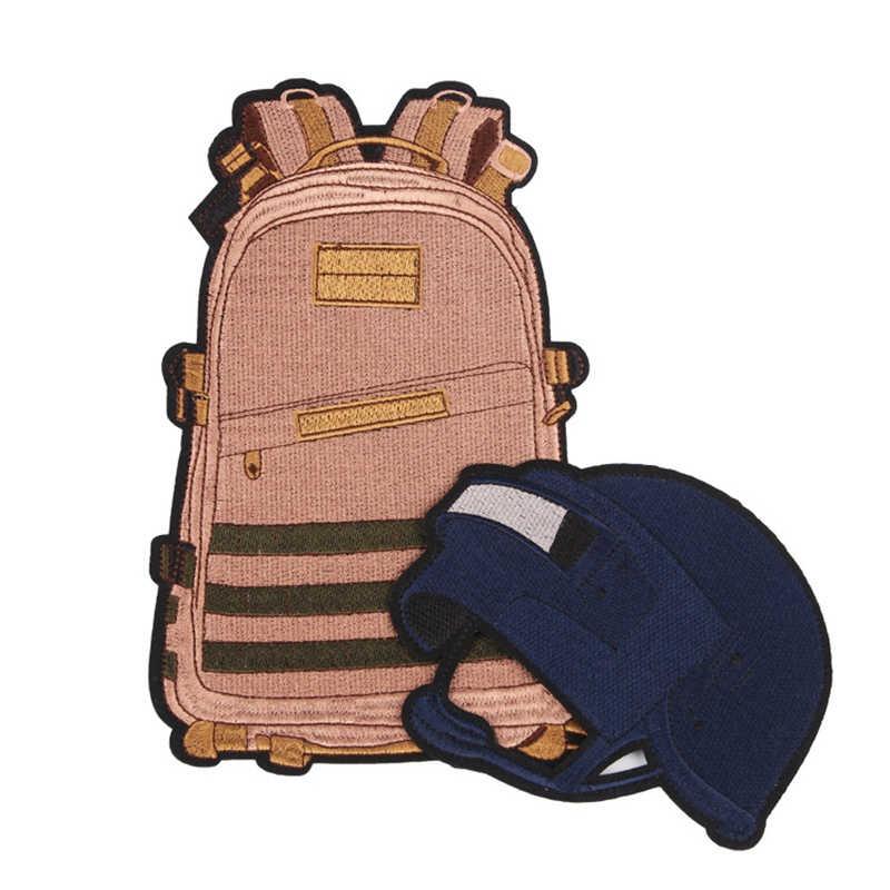 غرامة النساء PUBG الفائز الفائز الدجاج عشاء العسكرية الجيش التكتيكية المعنويات المطاط PVC بقع للملابس الملابس شعار شارات