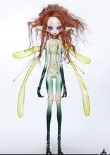 Aetop bjd boneca 1/6 bjd dz corpo especial aqk com olhos para o bebê crianças presente de aniversário (para não incluir asas)