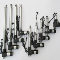 250-400mm L-typ Aluminium Legierung Schubstange Motor/linear Motor Motor 12V 24V /high Power Großen Schub Push-Rod/versenkbare Push-Rod