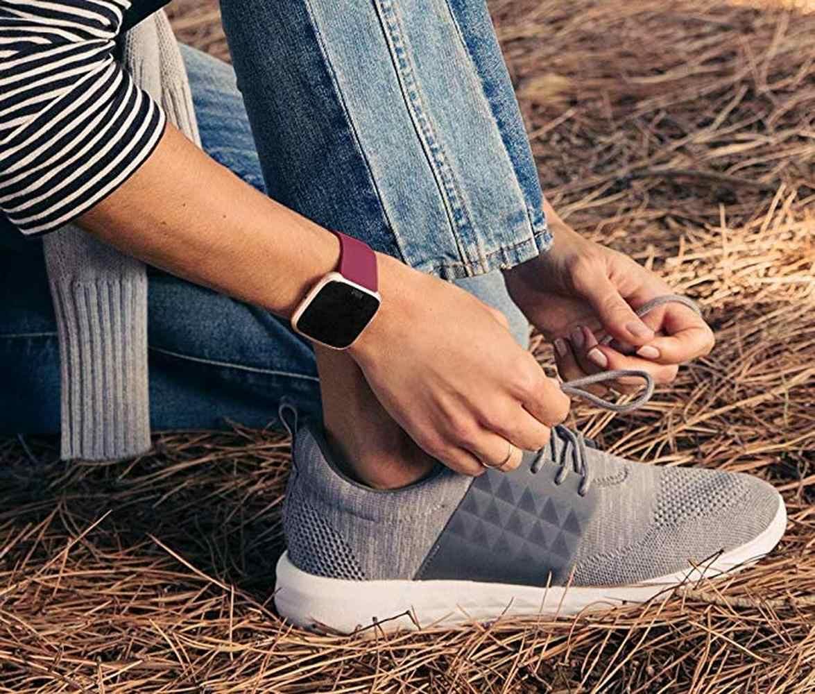 Vervanging Band Voor Originele Fitbit Versa/Versa 2 Zachte Siliconen Waterdicht Pols Accessoires Horloge Band Voor Fitbit Versa 2