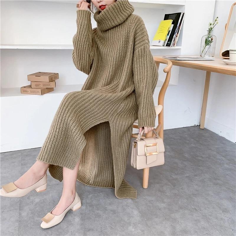 Long Sweater Dresses On Sale,Low -Cut Sweater Dress ,long sweater dress,long sweater dress,long sweater dress,