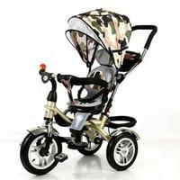 Babyfond crianças triciclo multi-função bebê bicicleta carrinho de bebê assento rotativo 1-5 anos de idade crianças bicicleta