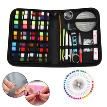 multifunction folding scissors pocket travel small crafts sharp blade emergency foldable travel scissors thread tailor scissors 128Pcs Sewing Kit Portable Travel Sewing Supplies Organizer  Scissors Thread Stitching Embroidery Craft Sewing Accessories Tools
