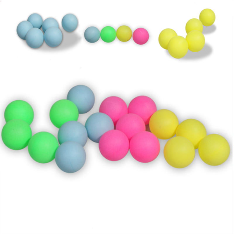 Professional  Table Tennis Balls 2.8g 40+mm New Colorful  ABS Plastic Ball For Ping Pong Competition Training Accessories