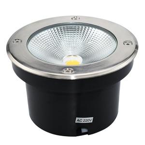 Светодиодный подземный светильник COB, 3 Вт, 5 Вт, 7 Вт, 9 Вт, 12 Вт, 15 Вт, 20 Вт, 30 Вт, уличный наземный садовый дорожный светодиодный светильник, водо...