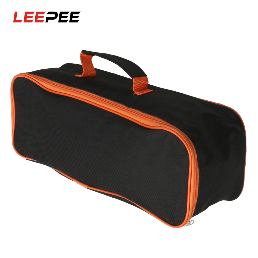 LEEPEE Car Vacuum Cleaner Storage Bag Car Trunk Storage Box Stowing Tidying Car Storage Bag Portable Toolkit Organizer
