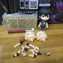 Anime Haikyuu Kageyama Tobio PVC Action Figure Collectible Model doll toy 10cm 489# tobyfancy haikyuu action figures nendoroid hinata syouyou kageyama tobio figure pvc 10cm anime volleyball figures haikyuu