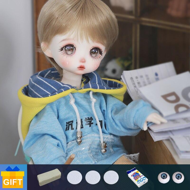 Flecken BJD Puppe ShugaFairy Fura 26cm Reine handarbeit fullset1/6 ob11 Harz Spielzeug Geschenke für Mädchen YOSD Puppe ball gelenk lager