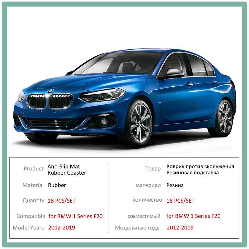 Kaymaz kapı kauçuk bardak yastık BMW 1 serisi F20 2012 ~ 2019 M güç 116 118 120 116i 118i 120i 116d 118d 120d aksesuarları