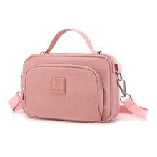 Новая маленькая сумка 7 цветов 2020 водонепроницаемые нейлоновые женские сумки Новинка легкая женская сумка на плечо высокое качество sac a main