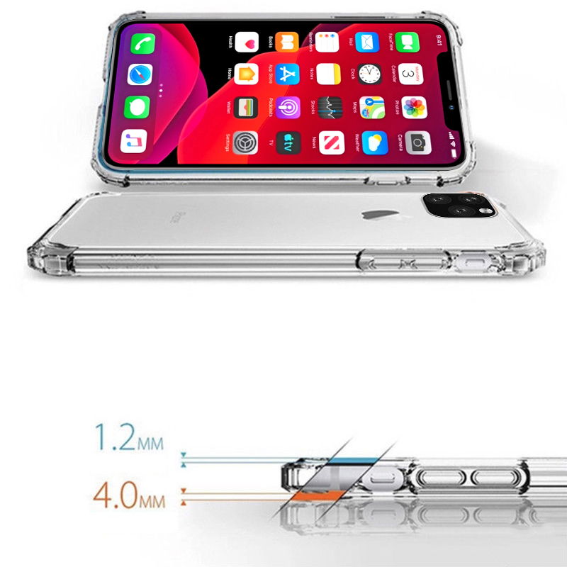 Heavy Duty Clear Case for iPhone 11/11 Pro/11 Pro Max 14